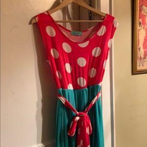 Filly Flair   Maxi Dress   Medium M